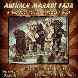 Autumn Market Fair - SPCA Fundraiser LOGO