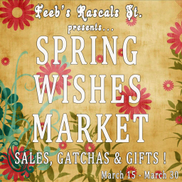Spring Wishes Market - Logo
