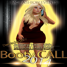 MC Fashion Store & Events - BOOTY CALL EVENT -SECOUND ROUND