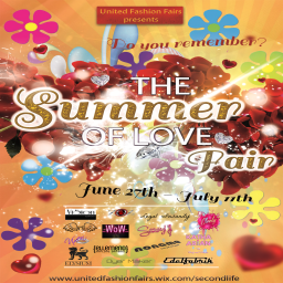 The Summer of Love Fair Poster