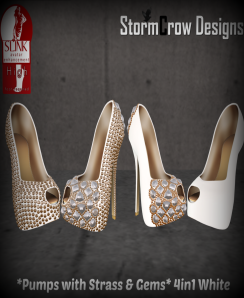 StormCrow Designs White Pumps_cropped