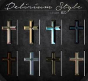 D-Style Cross Collar HUD