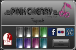 Pink Cherry Shiny Nails HUD