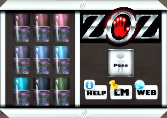 ZOZ Dark Nature Mesh Nail Polish HUD_croppedV2
