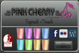 Pink Cherry Shiny Nails 2 HUD