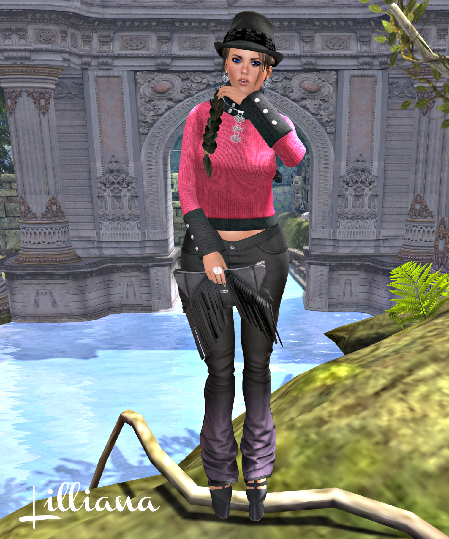 Poison Ivy, 7 Deadly, IT, Ecru, DS, Shoes, Clutch, IOS 4R_cropped