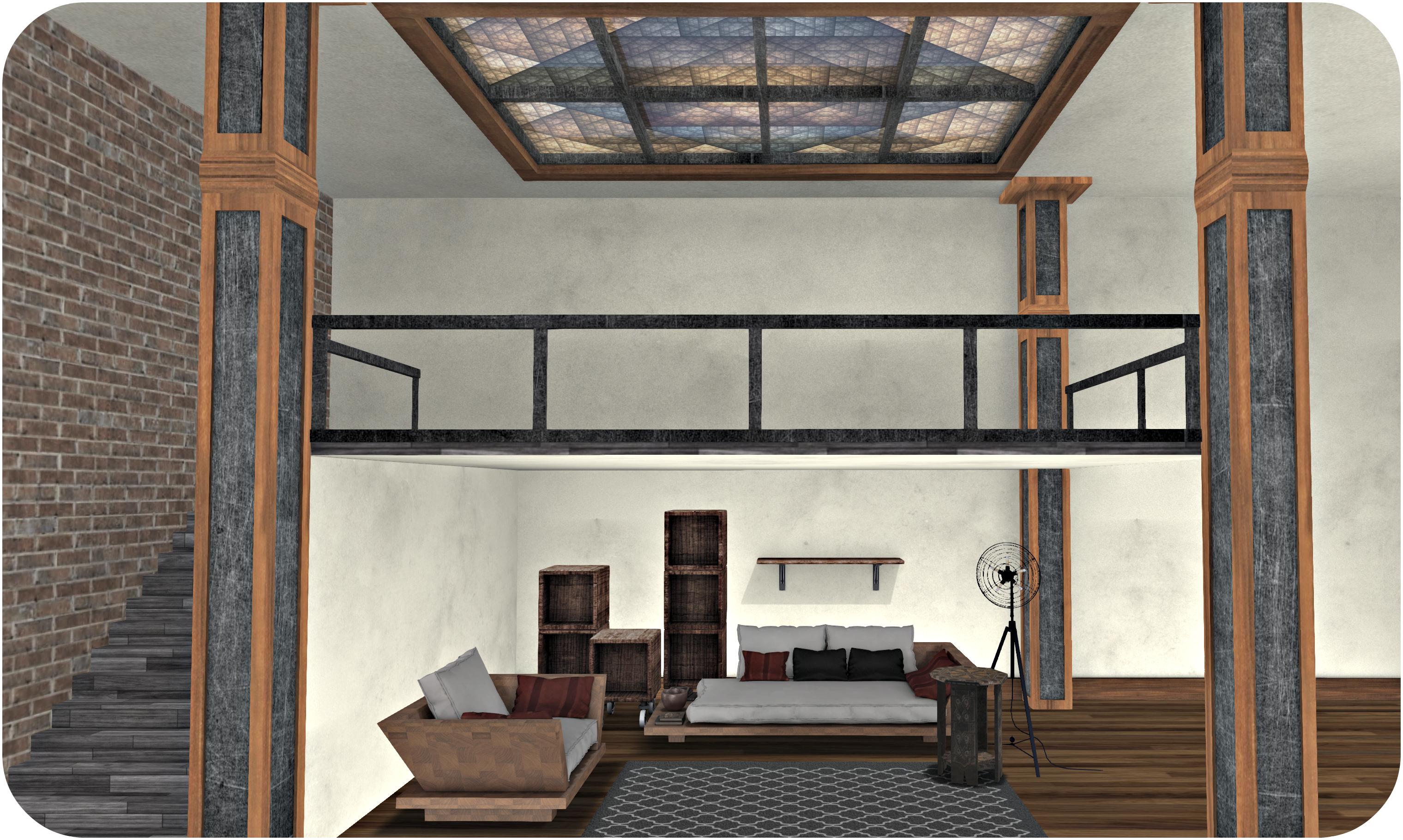 Garage Fair Furniture Shot w loft view 1_cropped