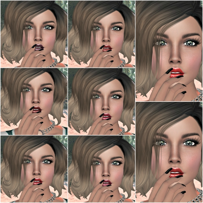 July 29th Blog Post Lipstick Collage