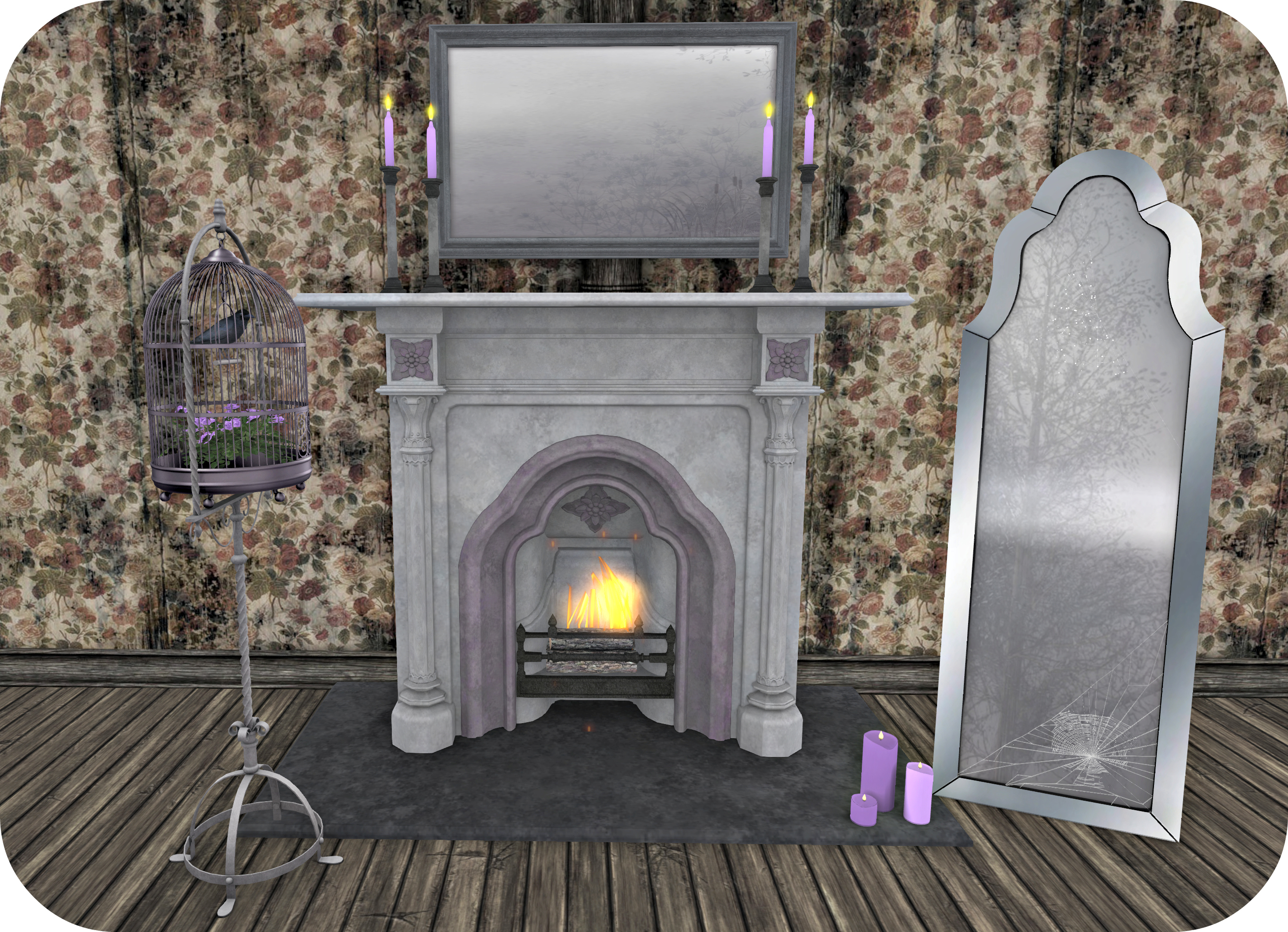 circa-art-fireplace-mirror-and-bird-cage_cropped