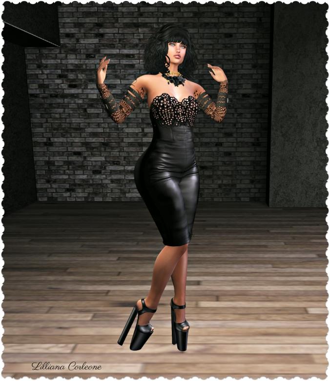 d8e4e784f DRESS   LIZ  Anyesca Dress in Black