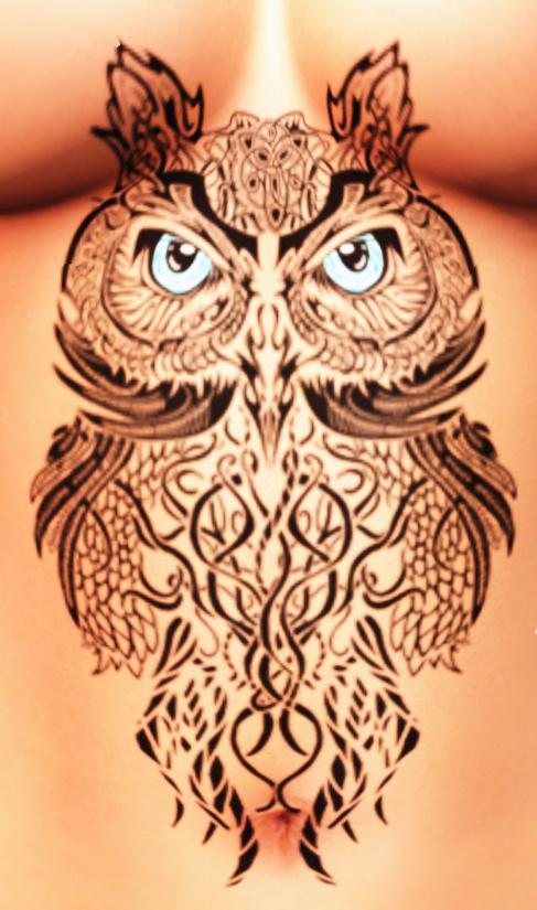 Blue eyed Owl Tat_cropped